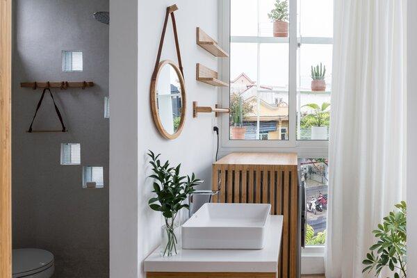 Best 60 Modern Bathroom Concrete Walls Design Photos And Ideas Dwell