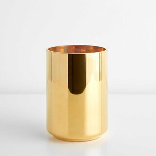 International Karat Gold Medium Lantern and Vase LSA