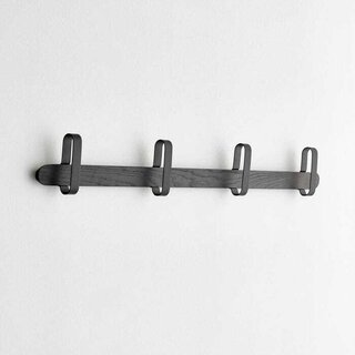 Hoop Black Coat Rack