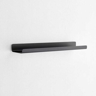 Modo Black Small Wall Shelf