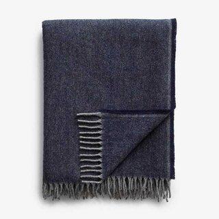 Jackson Blue Throw Blanket