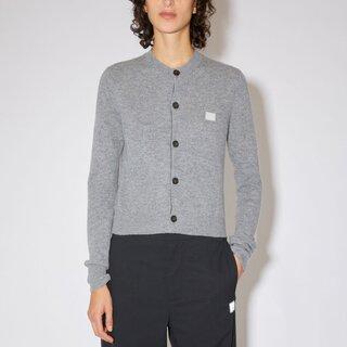 Acne Studios Cardigan Sweater Grey Melange