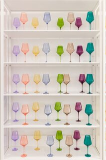 Estelle Colored Wine Stemware - Set of 6