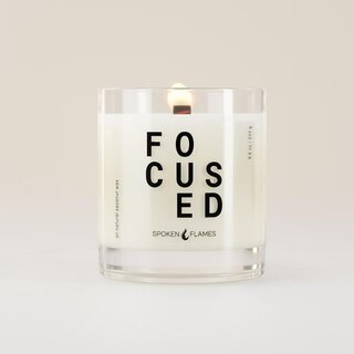 Spoken Flames Focused Candle
