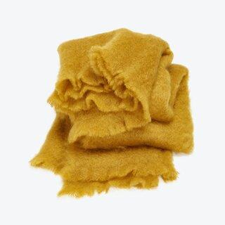 ABC Carpet & Home Mohair Throw Ochre