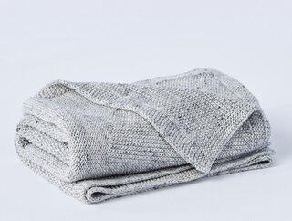Coyuchi Arroyo Organic Knit Baby Blanket