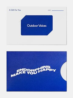 Outdoor Voices Gift Card