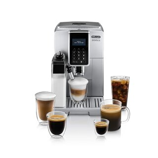 De'Longhi Dinamica with LatteCrema Coffee & Espresso Machine with Iced Coffee