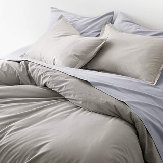 Crate and Barrel x Parachute Brushed Cotton Duvet Cover