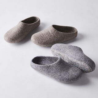 Kyrgies Classic Wool House Slippers