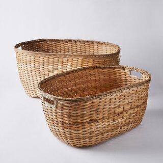 Olli Ella Handmade Tuscan Laundry Basket