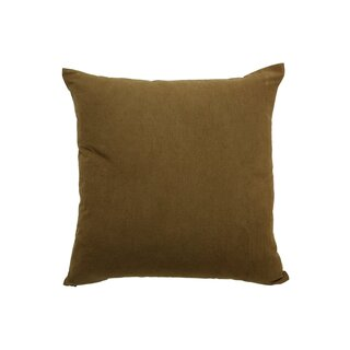 Obakki Olive Green Japanese Mudcloth Pillow