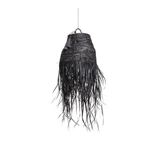 Obakki Woven Black Palm Pendant