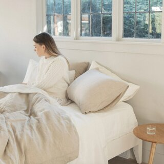 Sömn Linen Bedding Luxe Set