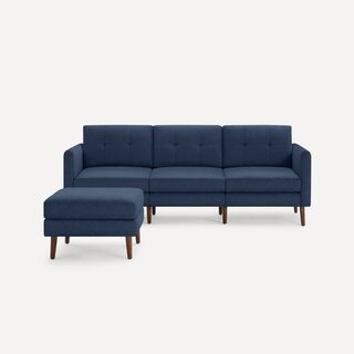 Burrow Arch Nomad Sofa With Ottoman