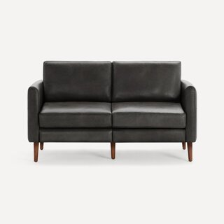 Burrow Arch Nomad Leather Loveseat