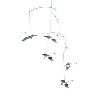 Flensted Mobiles Scandinavian Swans Mobile