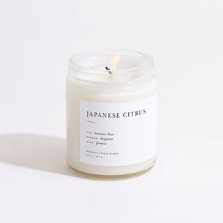 Brooklyn Candle Studio Japanese Citrus Minimalist Candle