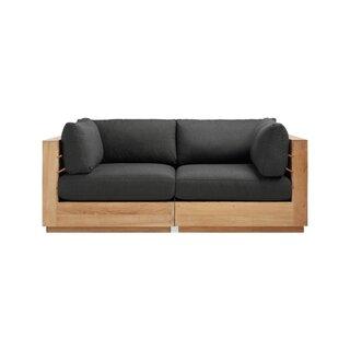 Arhaus Bal Harbour Outdoor Teak Modular Sofa