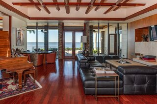 A Polished, Midcentury-Inspired Abode Asks $7M in Tampa, FL