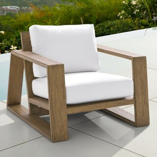 Arhaus Canyon Outdoor Lounge Chair