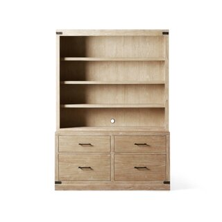 Arhaus Tremont Modular Bookcase with File Base