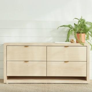 Avocado Malibu Wood Dresser