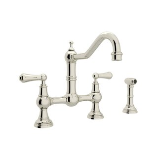 House of Edwardian Era Faucet With Side Spray
