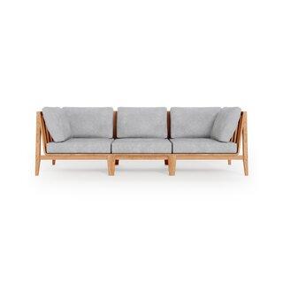 Outer Teak Outdoor Sofa - 3 Seat