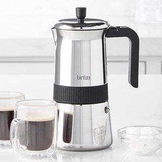 Brim 6-Cup Moka Espresso Maker