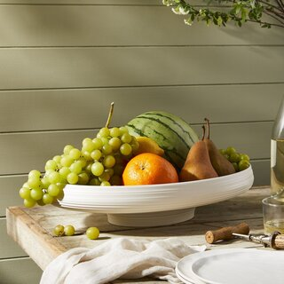 Guzzini Recycled Tierra Oval Fruit Bowl
