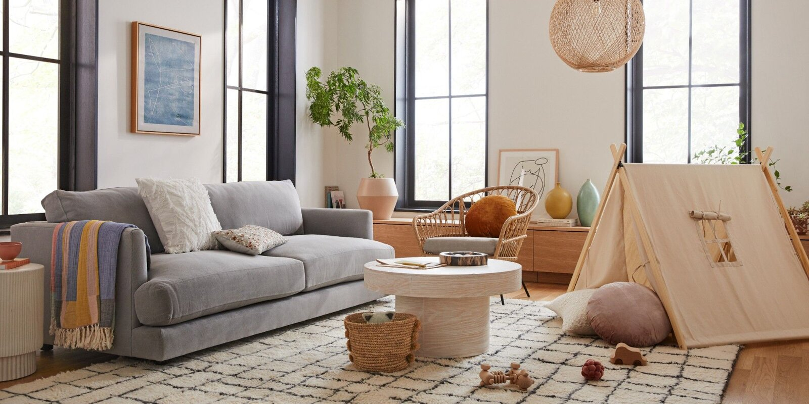 Photo 1 of 4 in West Elm Just Launched More Than 200 New Pieces of Kids' Furniture