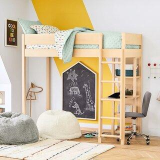 West Elm Nash Loft Bed - Natural
