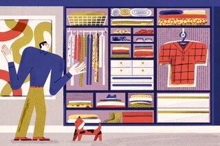 Dwell On This: How to Actually Organize Your Closet