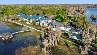A Lavish Lakeside Estate Seeks $16.5M in Windermere, FL