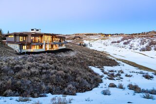 A Luxe Mountain Contemporary Lists for $6.4M in Park City, UT