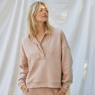 Lunya Restore Double Faced Pullover