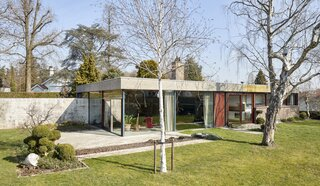 A '60s Time Capsule by Belgian Brutalist Juliaan Lampens Lists for €545K