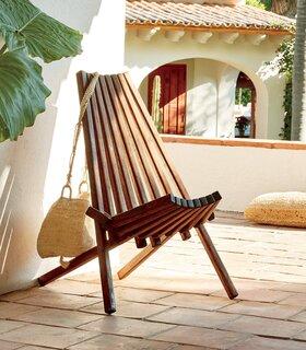 Mexa Maya Wood Outdoor Chair