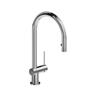 Riobel Chrome Azure Pull-Down Kitchen Faucet