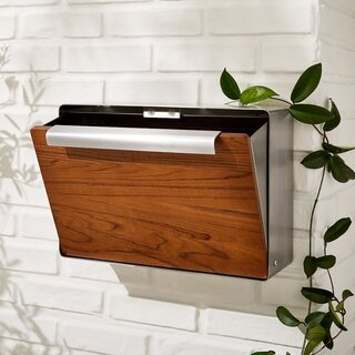 West Elm Modern Metal Mailbox