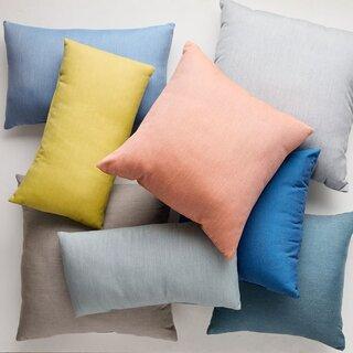 Sunbrella Solid Indoor/Outdoor Cast Pillows