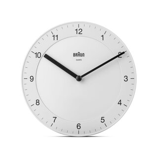 Braun BC06 Classic Analog Wall Clock