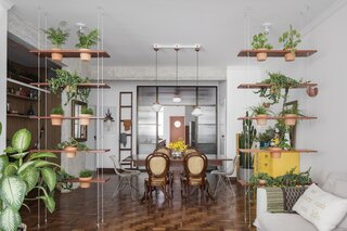 A Deteriorating 1950s Apartment in São Paulo Gets Revamped and Greened-Up