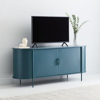 West Elm Perforated Metal Media Console