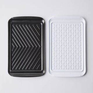 Tovolo Prep & Serve Grill Trays, Set of 2