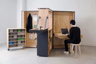 Roll Up Your Sleeves and Build This DIY Office in a Box