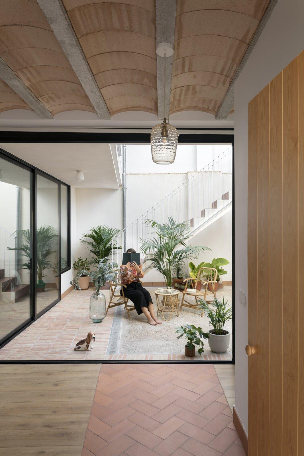 La Casa del Canto courtyard