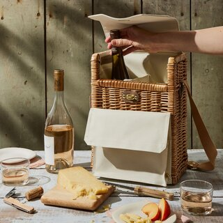 Picnic Time Wine & Cheese Picnic Basket