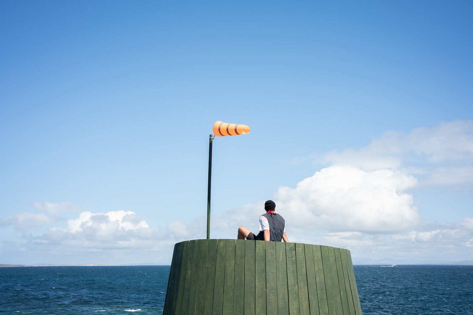 Photo 3 of 12 in An Off-Grid Artist's Retreat Pops Up on an Island Near Ireland